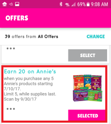 Annies BOXTOPS